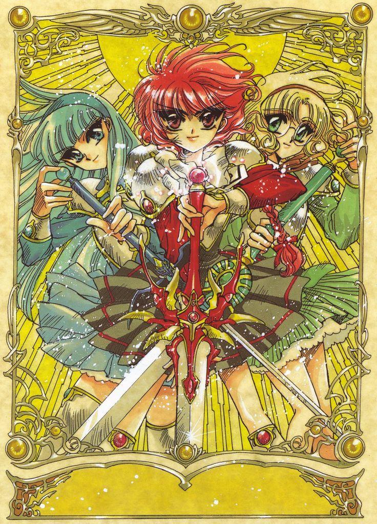 Pin de Kurihara Pato en Magic knight rayearth Arte de
