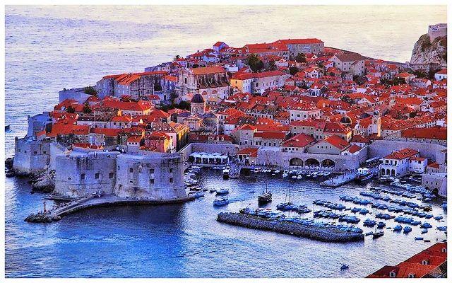 Dubrovnik at Sunset