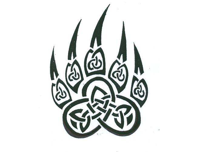 Tribal Celtic Bear Claw Tattoo | Tattoo Tabatha