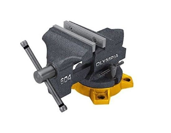 4-Inch Bench Vise Tool Woodworker Gunsmith Workbench Bench Durable Steel Jaw  #Olympia