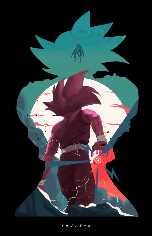 My entry for the Dragon Ball Expo of Santiago de Chile. Find Prints and T-shirts here at my store on https://society6.com/efemagana