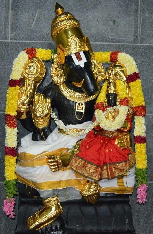 When asura Hiranyaksha kidnapped the earth or goddess earth Bhuma Devi ..Lord Vishnu took the avatar of Lord Varaha to safe her and kill the asura . After saving her, He and Goddess Bhuma  were married .