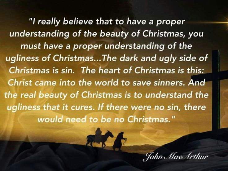 christian quotes | John MacArthur quotes | Christmas | sin | Jesus Christ