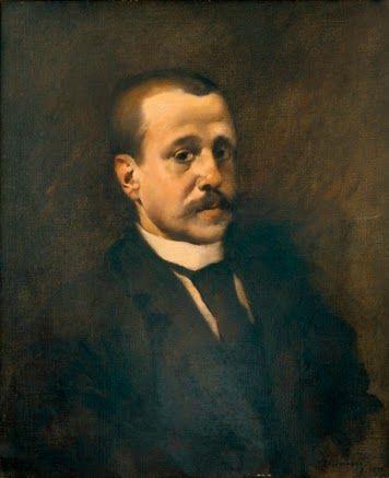 RETRATO DE FIALHO DE ALMEIDA (1891). Columbano Bordalo Pinheiro (1857-1929). Óleo sobre tela (65 × 54 cm). Museu Nacional de Arte Contemporânea, Lisboa.