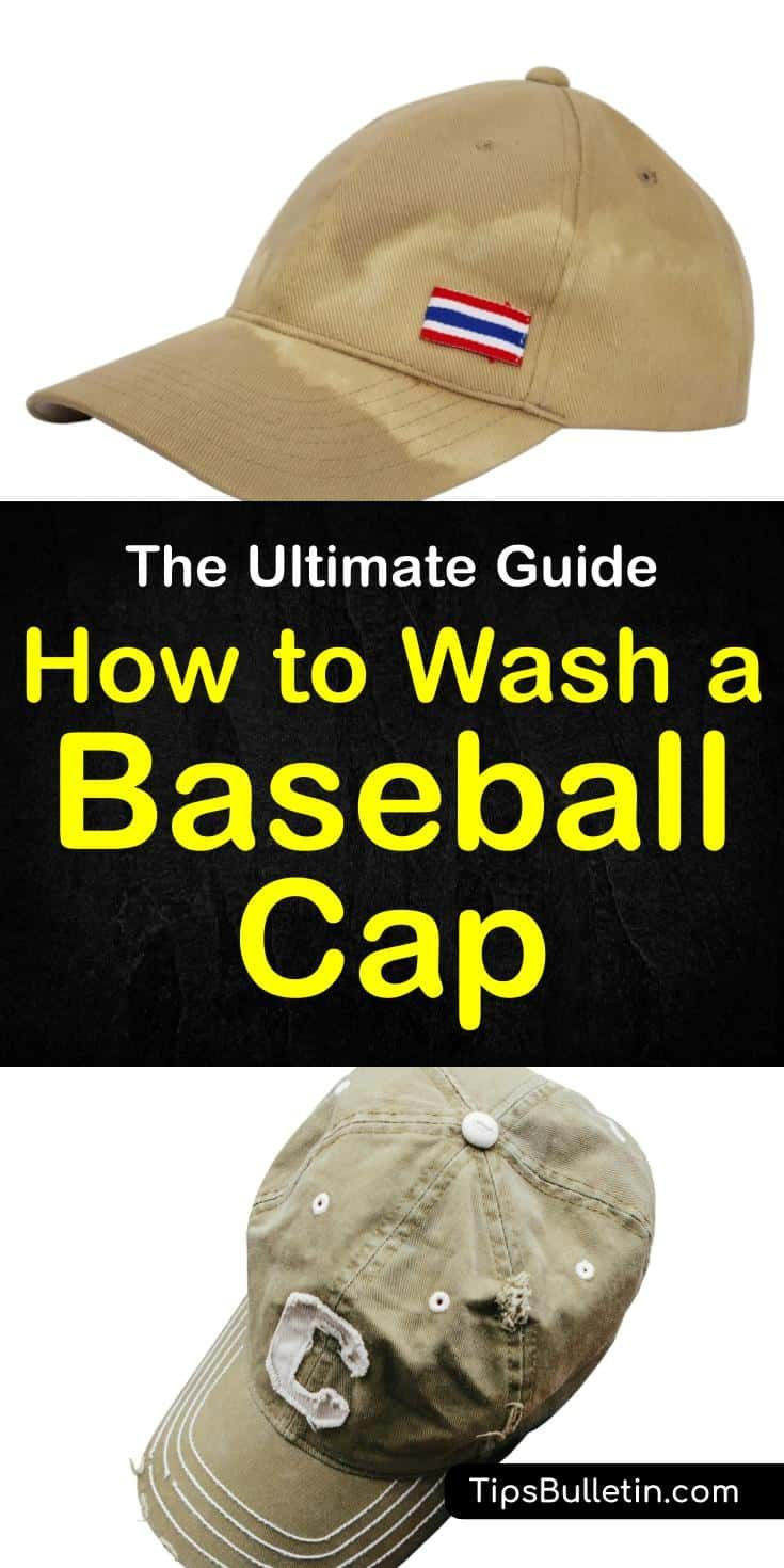 The Ultimate Guide On How To Wash A Baseball Cap How To Wash A Baseball Cap Cleaning Hacks Sweat Stains