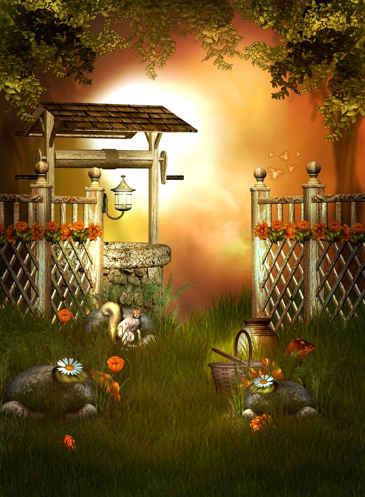 205 best Fantasy Garden images on Pinterest | Backgrounds ...