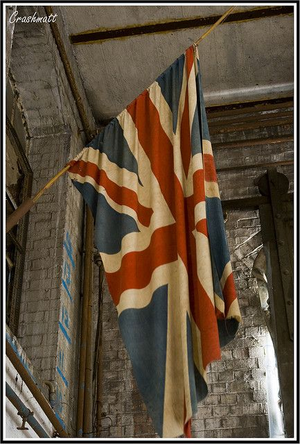 British Flag - Someday I'd like to buy a vintage/antique Union Jack