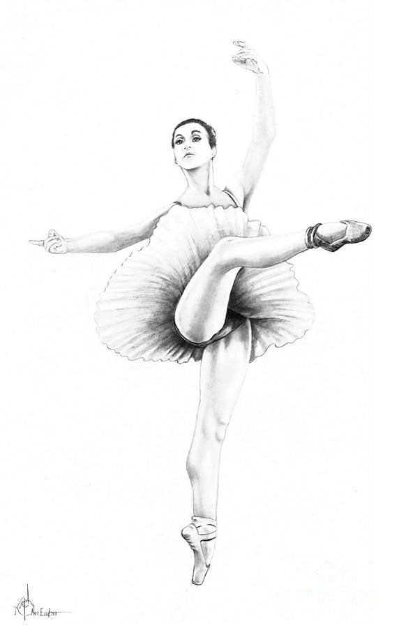How to Draw a Ballerina Dancer Easy and Cute - YouTube