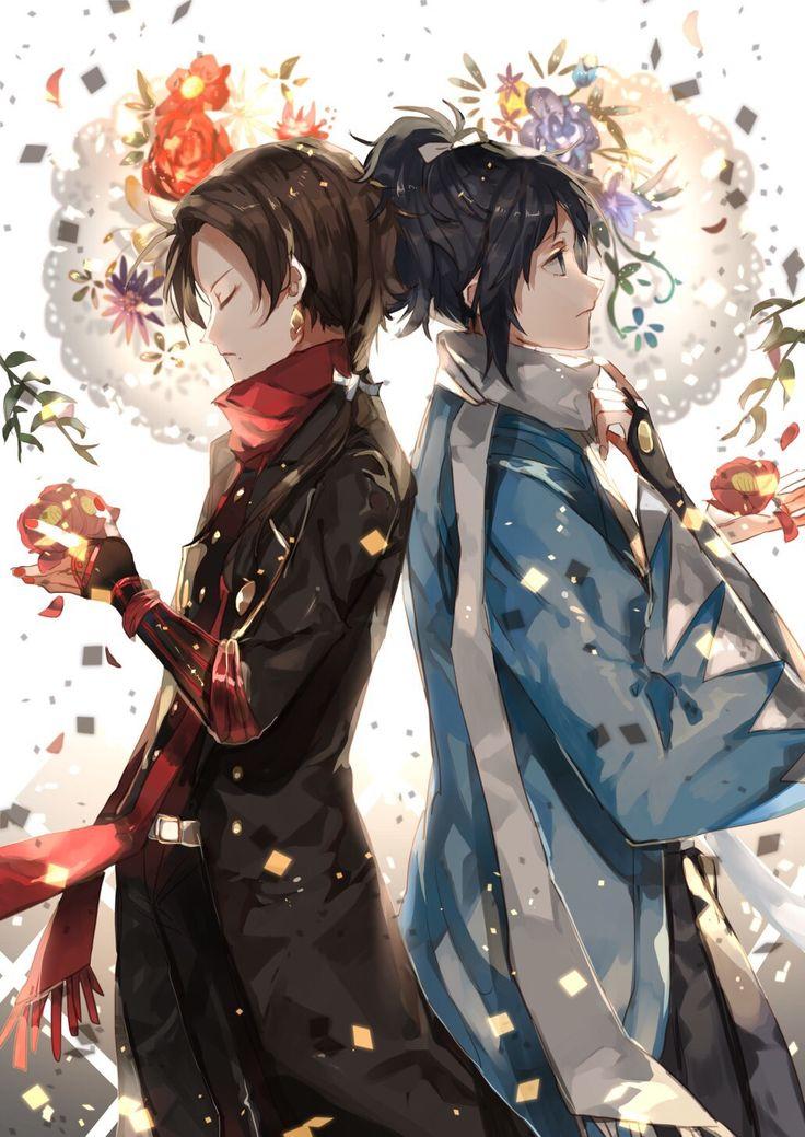 Kashuu and Yamato    Touken Ranbu