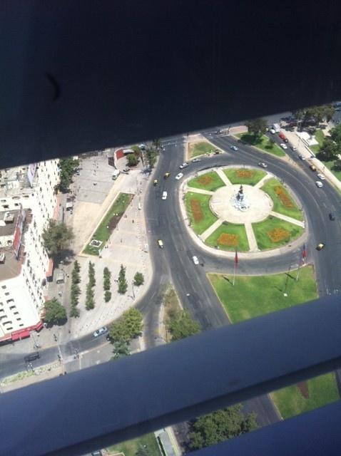 Un día tranquilo en Plaza Italia