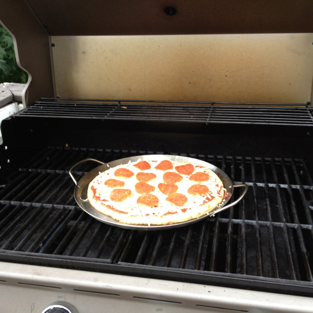 Image result for pizza grill out