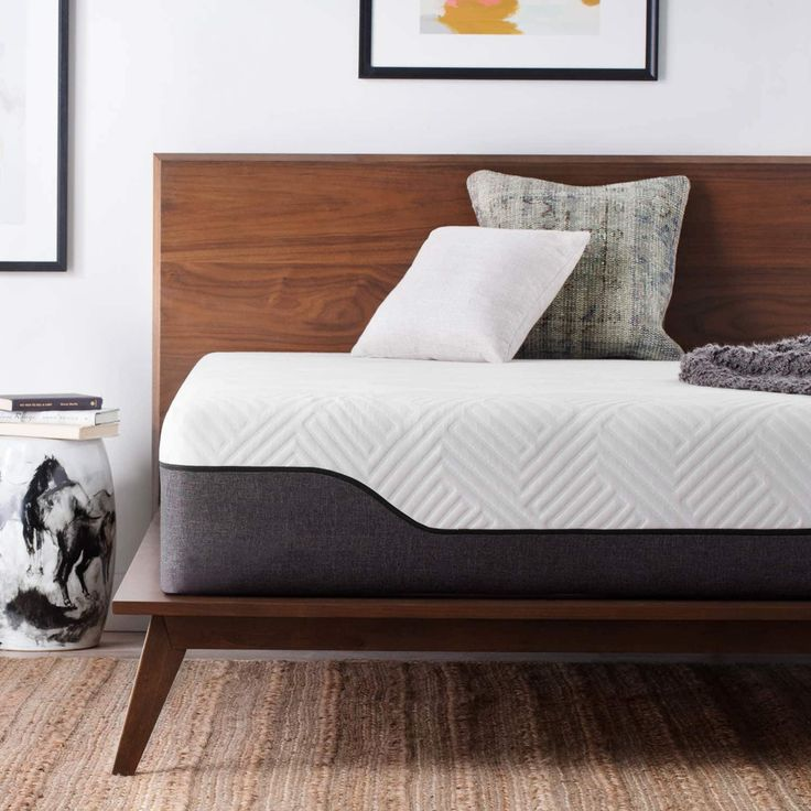 Lucid 12-inch California King-size Bamboo Charcoal (Grey) and Aloe Hybrid Mattress (Cal King)