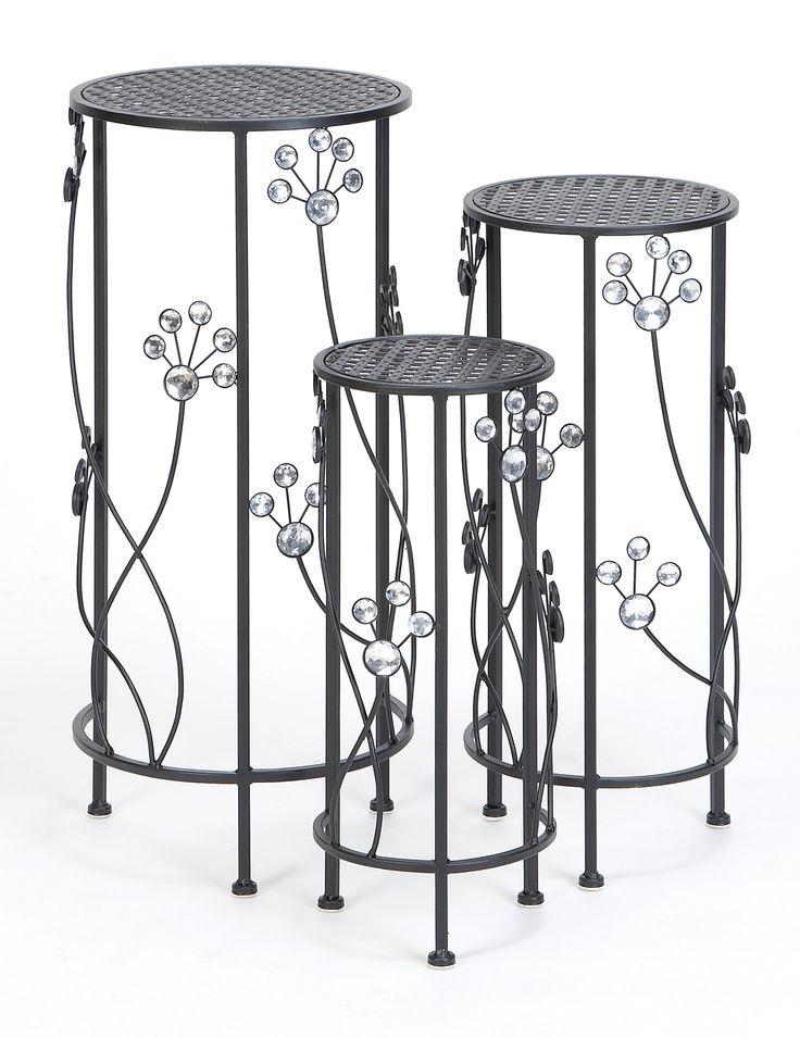 3-Piece Amira Plant Stand Set