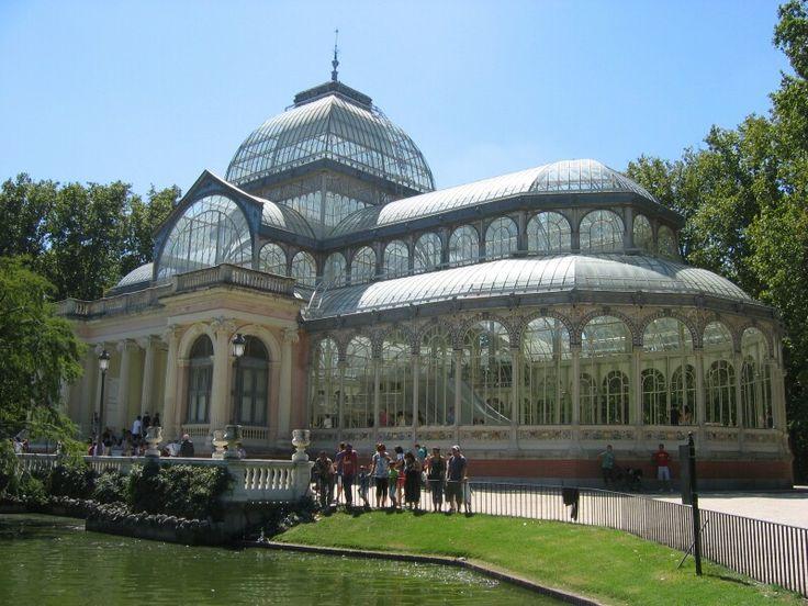 Glazen huis park