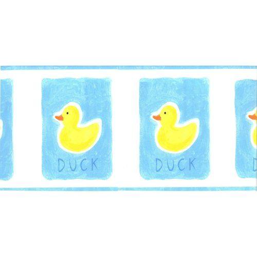 Rubber Duckies Ducks Pre Pasted Wall Border Nursery Or Bathroom Decor By  Norwall | EBay $7