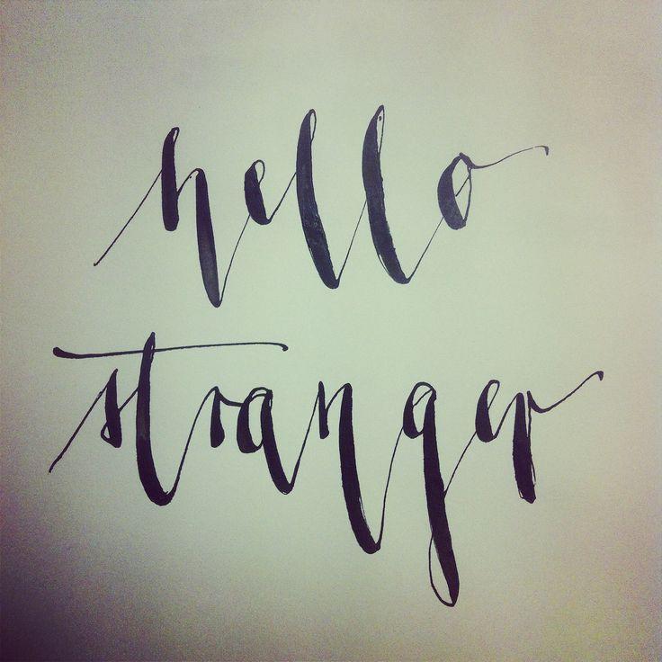 hello stranger by KlassDSign