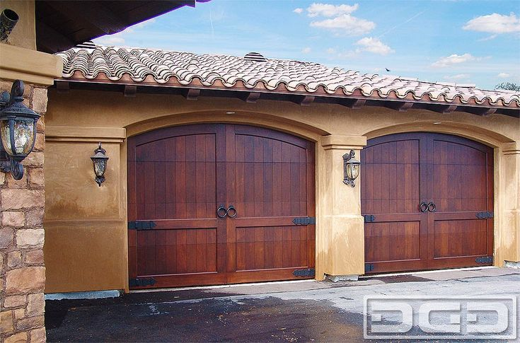 25 Best Ideas About Wood Garage Doors On Pinterest