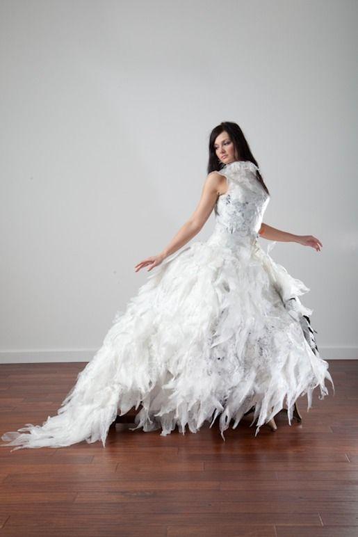 18 best trash bag fashion images on pinterest bin bag for Wedding dresses fargo nd