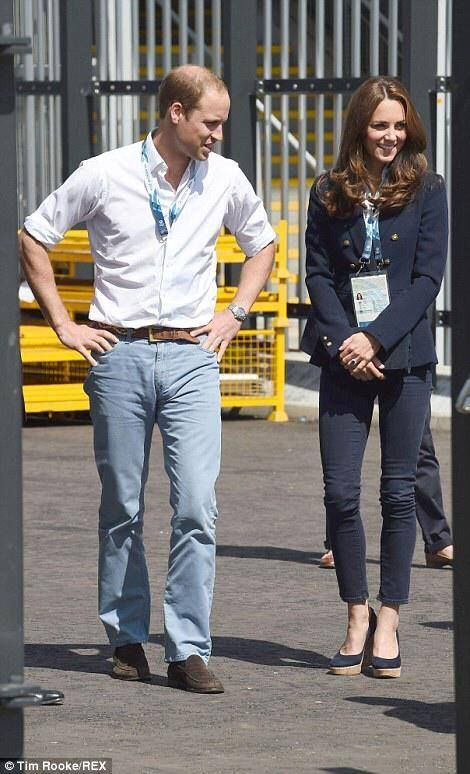 Prince William HRH Duke of Cambridge & Kate Middleton, HRH The Duchess of Cambridge & at the Commonwealth Games 2014 Glasgow