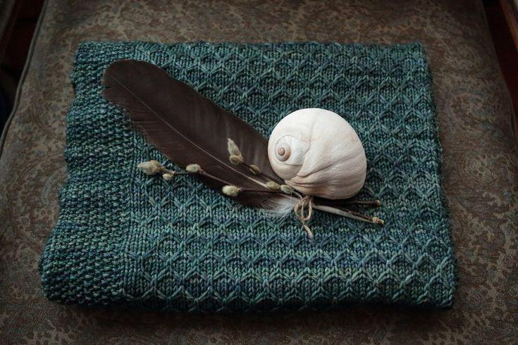Llyr Baby Blanket Knit Pattern