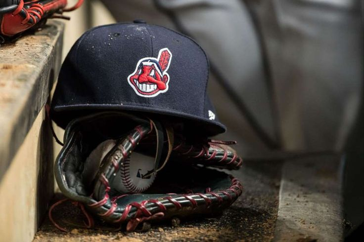 Chief Wahoo protester charged with theft of grant money  -  August 31, 2017:  A Cleveland Indians hat with Chief Wahoo against the Minnesota Twins on April 17, 2017 at Target Field in Minneapolis, Minnesota. The Indians defeated the Twins 3-1. (Photo by Brace Hemmelgarn/Minnesota Twins/Getty Images)