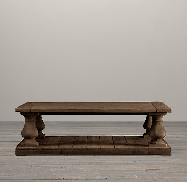 Balustrade Salvaged Wood Coffee Tables Furniture Dreaming Pintere