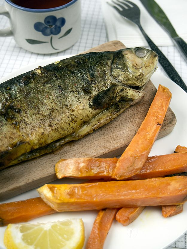 fish with cinnamon and cumin /pescado con canela y comino