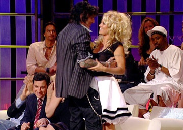 Pam Anderson's skirt for the Comedy Central Roast...phenom.  I wans one.