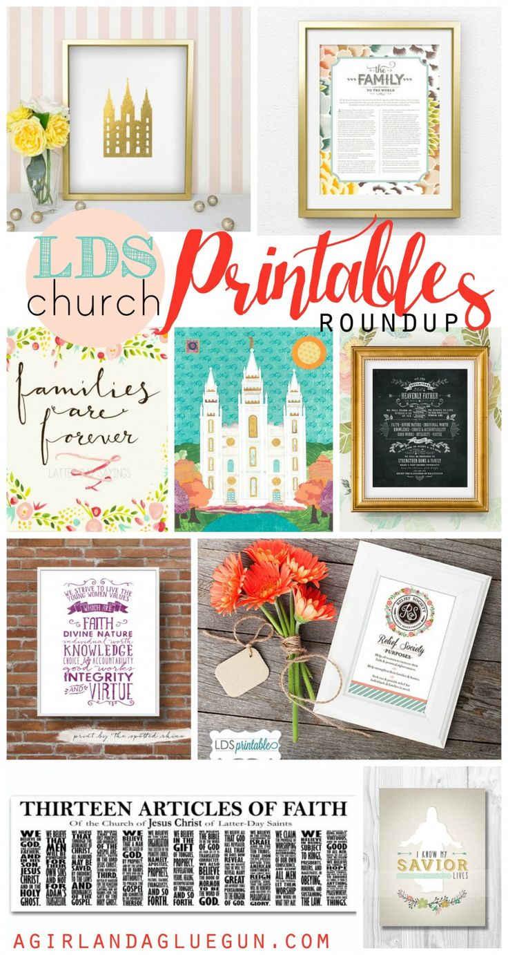 I have talked about it a little…but I belong to the Church of Jesus Christ of Latter Day Saints (LDS for short) (you can go here to read more about my church) I wanted to roundup all my favorite printables of of our most popular quotes and sayings and doctrine! and it has come to [...]
