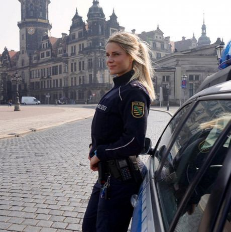 Female Police Officer - Germany