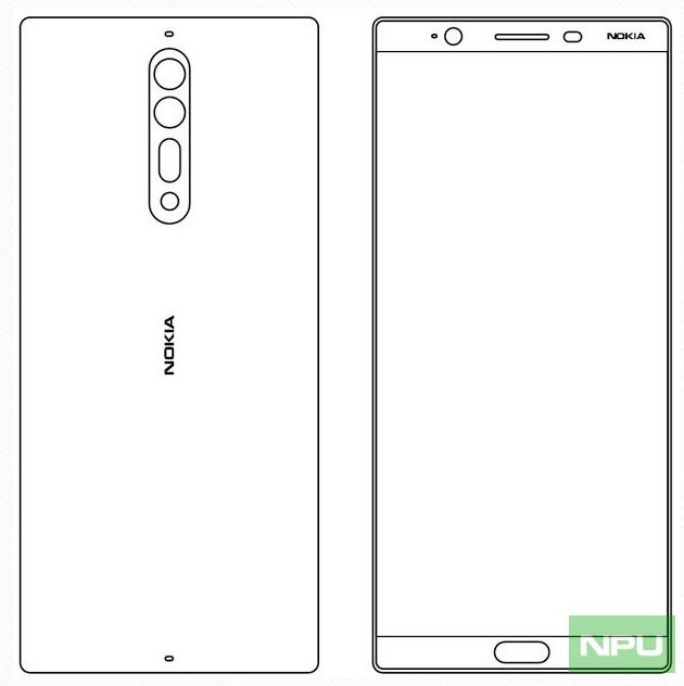 """Nokia is planning to join the """"No Bezel"""" gang: check out this incredibly good looking concept!  More details here: http://bit.ly/2obKGRL"""