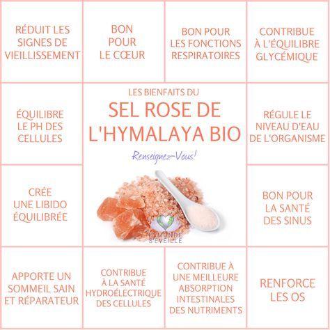 Les Bienfaits du Sel Rose de l'Hymalaya | SEL ROSE DE L'HYMALAYA Le Monde s'Eveille Grâce à Nous Tous ♥