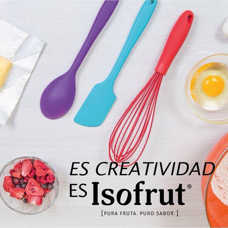 En estas vacaciones inspírate y atrévete a cocinar con nuestros productos.   #Isofrut será un gran acompañamiento para un postre veraniego o un jugo natural. ¿Qué harías tú?