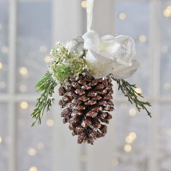 Natural Pinecone Holiday Ornament