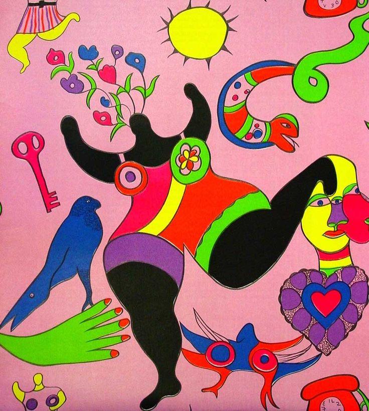 Nana auf Pink von Niki de Saint Phalle präsentiert von der Galerie am Dom in Frankfurt und Wetzlar