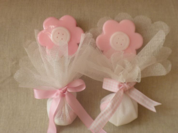 """""""Flower with button""""hand made glycerin soaps for christening gifts. www.facebook.com/sapounospito"""