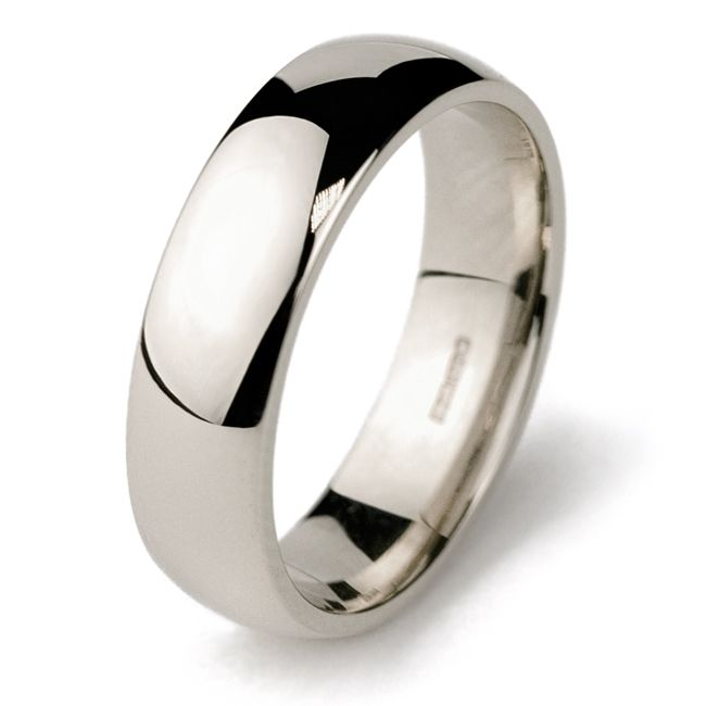 Trending white gold wedding bands for men something simple