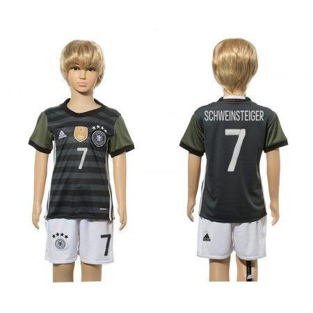 Tyskland Trøje Børn 2016 Bastian #Schweinsteiger 7 Udebanetrøje Kort ærmer.199,62KR.shirtshopservice@gmail.com
