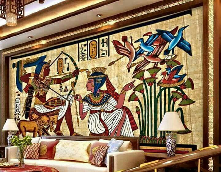 Uau Egyptian Partyancient Historyancient Egyptliving Room