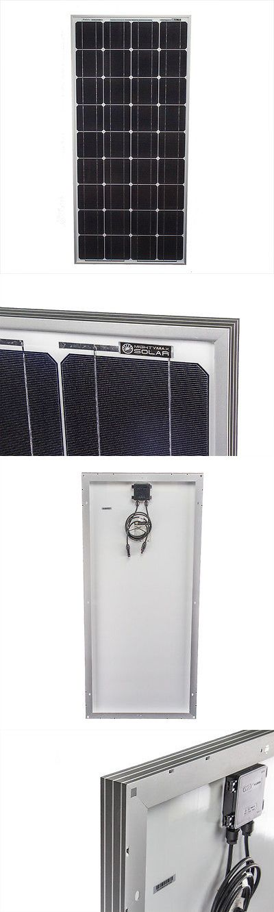 Solar Panels 41981: Mighty Max 100 Watts Solar Panel 12V Mono Off Grid Battery Charger For Trucks -> BUY IT NOW ONLY: $114.95 on eBay!