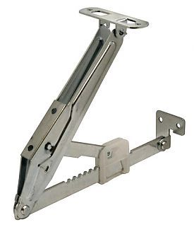 Selby Heavy Duty Lift Up Ratchet Support Pair Zinc
