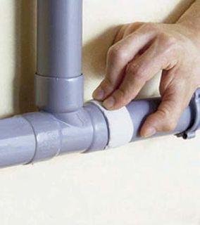 mastic pvc colmater fuite d 39 eau sur un tuyau tuyau. Black Bedroom Furniture Sets. Home Design Ideas
