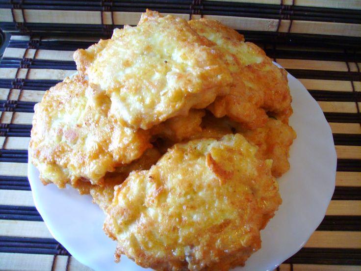Kuchnia z widokiem na ogród: Serowe kotleciki z piersi kurczaka. Delikatne i smaczne :)