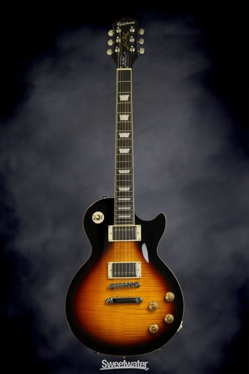 86 best epiphone lespaul tribute plus images on pinterest epiphone epiphone les paul tribute plus vintage sunburst sweetwater solidbody electric guitar cheapraybanclubmaster Gallery