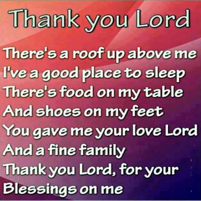 Thank You Lord For My Son Quotes: Thank You Lord Quotes Quote God Religious Quotes Faith
