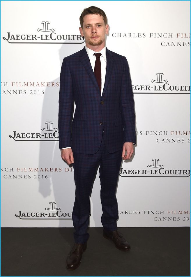Traveling to France for the 2016 Cannes Film Festival, English actor Jack O'Connell stepped out for an exclusive dinner. Attending the 8th annual filmmakers dinner with Jaeger-LeCoultre, O'Connell made a sharp statement in a blue and red check suit. The Monaco suiting number came from Italian fashion house Gucci. Boasting a timeless appeal, the check...[ReadMore]