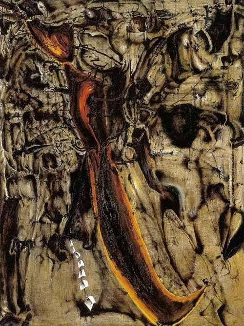 Siurpryza 1964, olej na płótnie, 173 x 131 cm