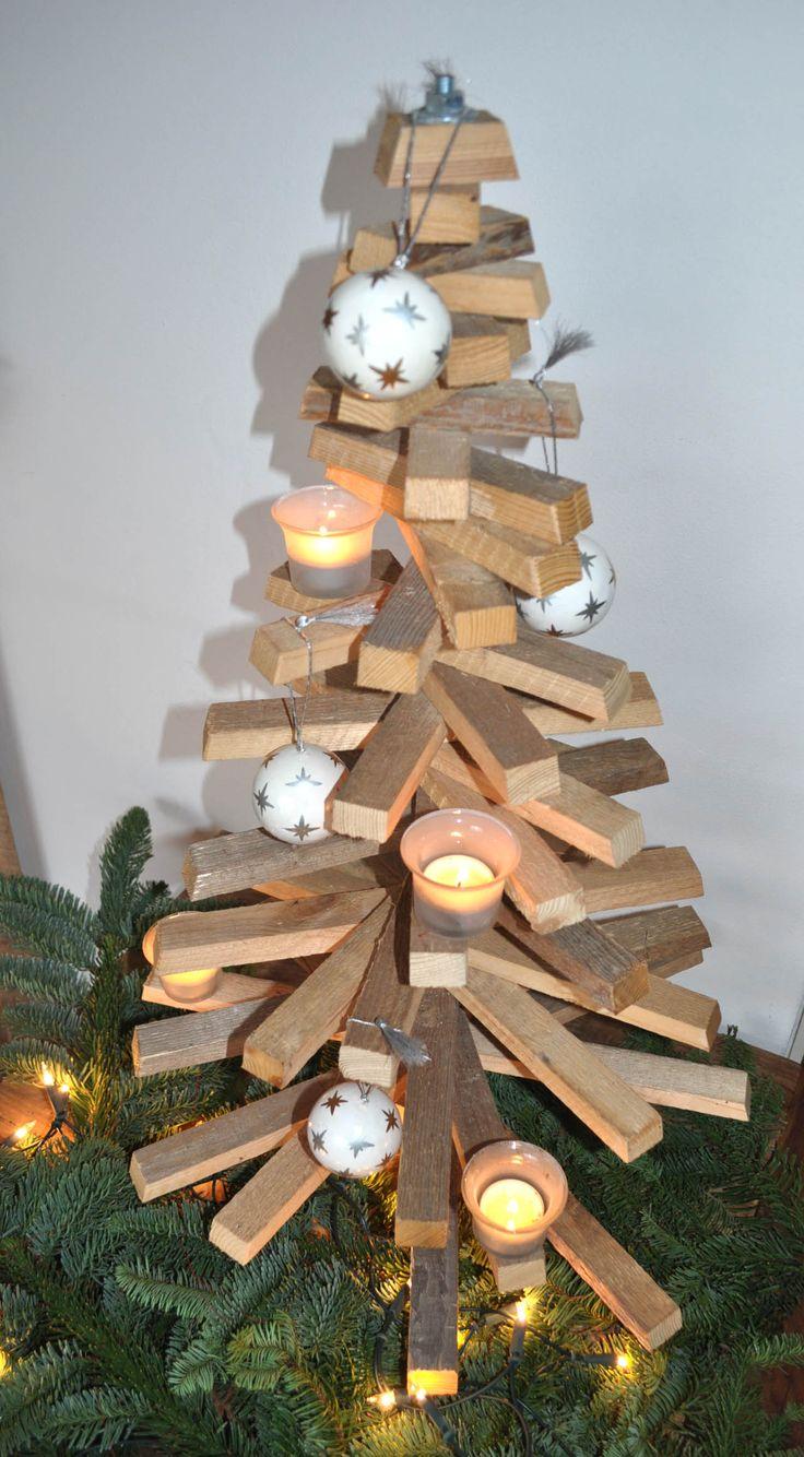 houten kerstboom planken - Quoteko.com
