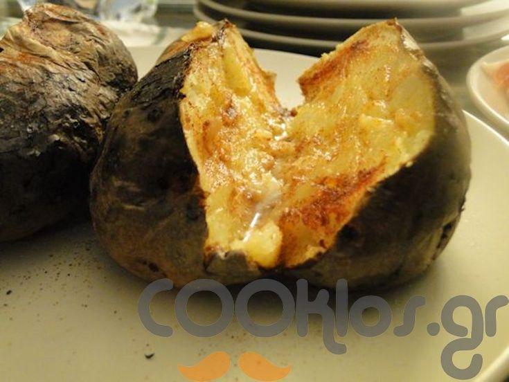 Πατάτα στο τζάκι! at cooklos.gr