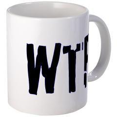 """What The F*#%"" Mug"